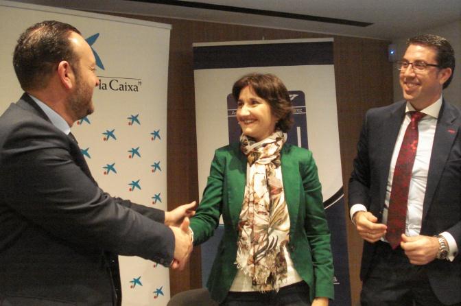 La Obra Social La Caixa colabora por segundo año consecutivo con la Asociación de la Prensa de Jerez