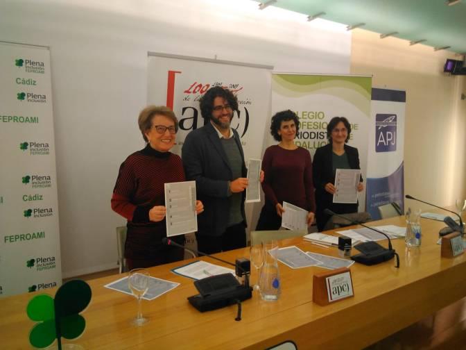La APJ promueve junto a Feproami la campaña #ReCapacita para un tratamiento adecuado de la discapacidad en los medios
