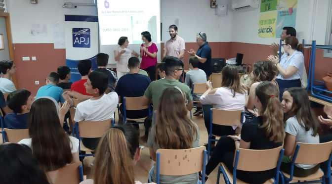 La APJ culmina con éxito la sexta edición de 'La Llave Maestra de la Comunicación' en el IES La Campiña de Guadalcacín